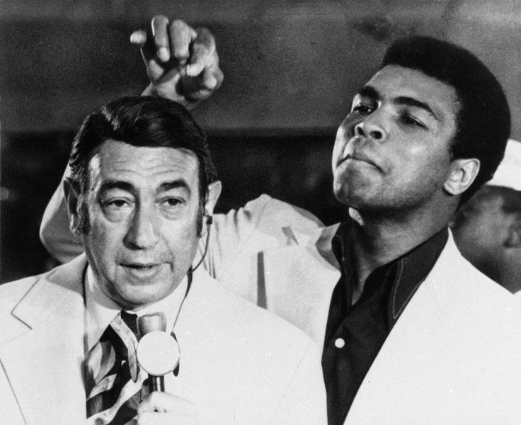 Howard Cosell and Muhammad Ali. Each fed off each other and, in part, grew larger and more legendary as a result.