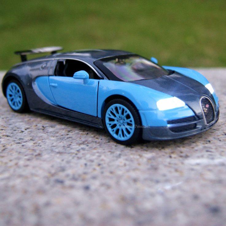 Bugatti Veyron Green: Model Car Sound&Light Tail Version Bugatti Veyron