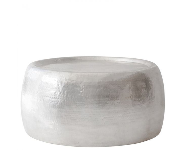 Antiqued Silver Round Table - Furniture | Weylandts South Africa