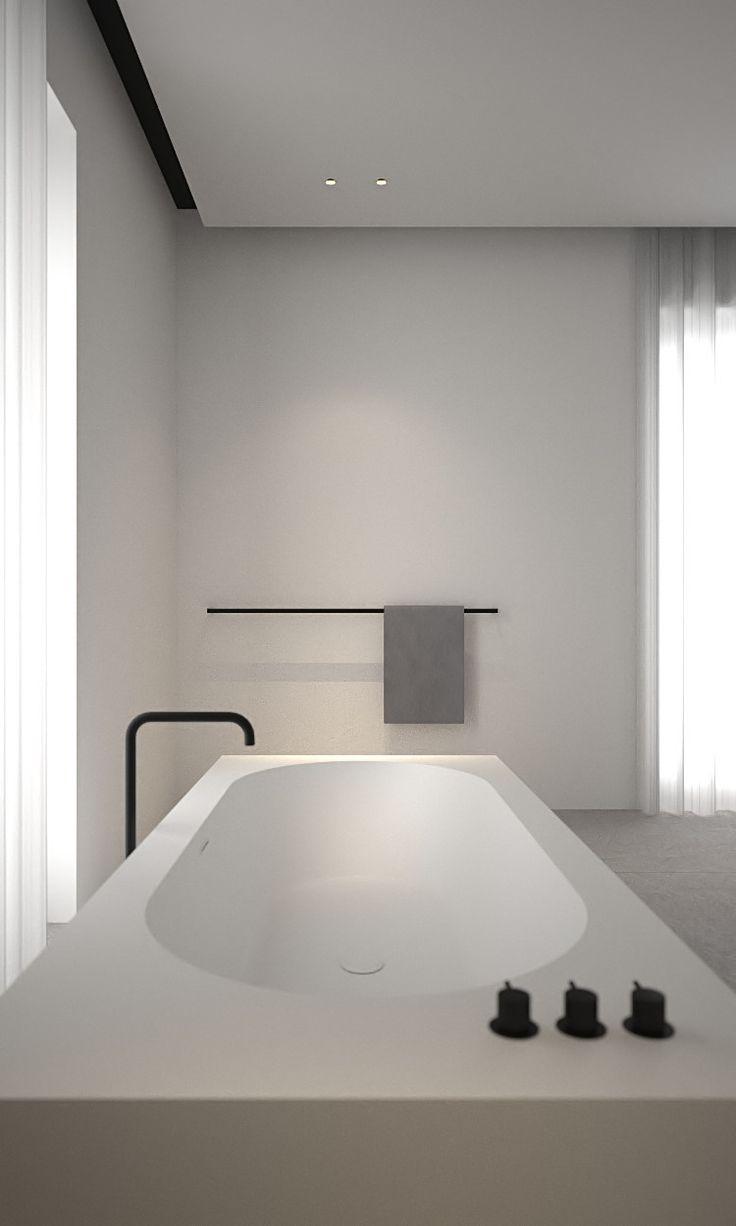 Badezimmer ideen halb geflieste wände  best b a t h r o o m images on pinterest  bathroom half