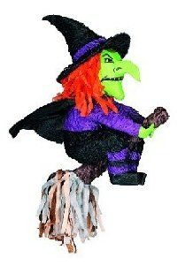 "YA OTTA PINATA 147053 23 in. Witch Pinata by YA OTTA PINATA. $17.96. Manufactured to the Highest Quality Available.. Great Gift Idea.. Design is stylish and innovative. Satisfaction Ensured.. The Witch Pinata is a fun activity for your Halloween party! Pinata measures approximately 23"" long. Dimensions: (inches) Length: 19.5. Width: 12. Height: 10.5"