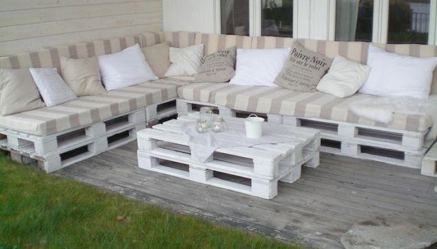 Möbel aus Europaletten - DIY Ideen und Anleitungen