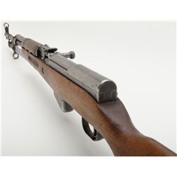 "Russian SKS semi-auto rifle, 7.62mm cal., 19-1/2"" barrel, import-marked, wood stock, w/ bayonet, #BC"