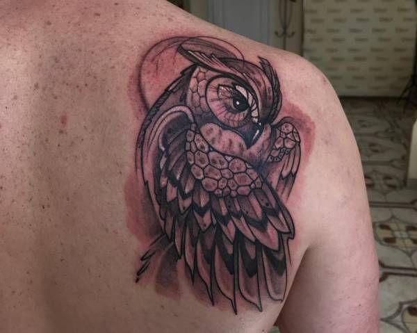 Tatuaż Sowy Znaczenie Historia 30 Zdjęć Pomysł Na Tatuaż