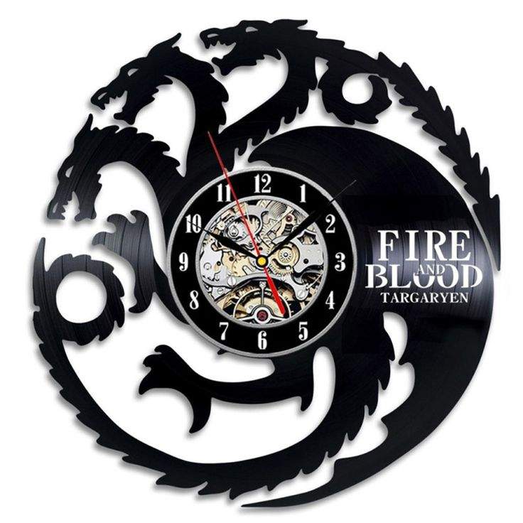 Targaryen Wall Clock //Price: $36.49 & FREE Shipping //     #house #season