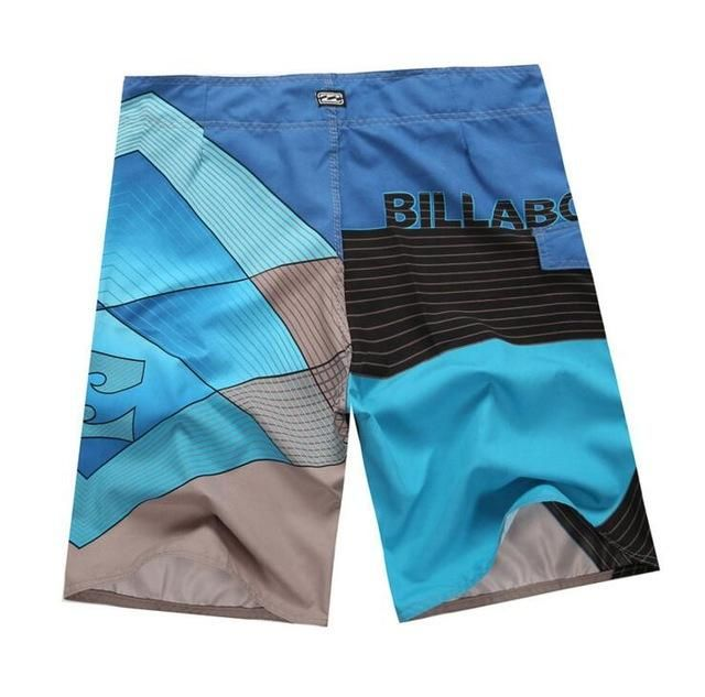 2017 New men beach shorts quick drying bermudas 7