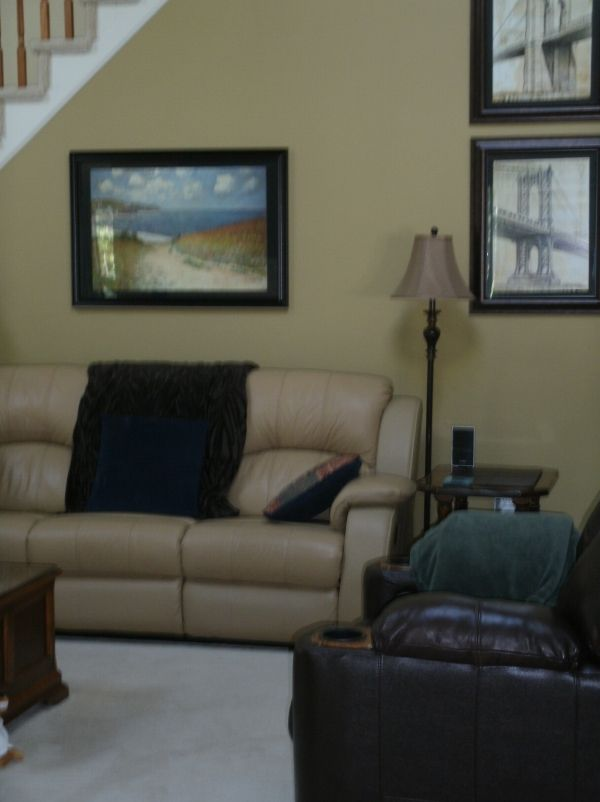 Best Living Room Colors Benjamin Moore | Wall Color Is Benjamin Mooreu0027s  Blair Gold. Chair Part 70