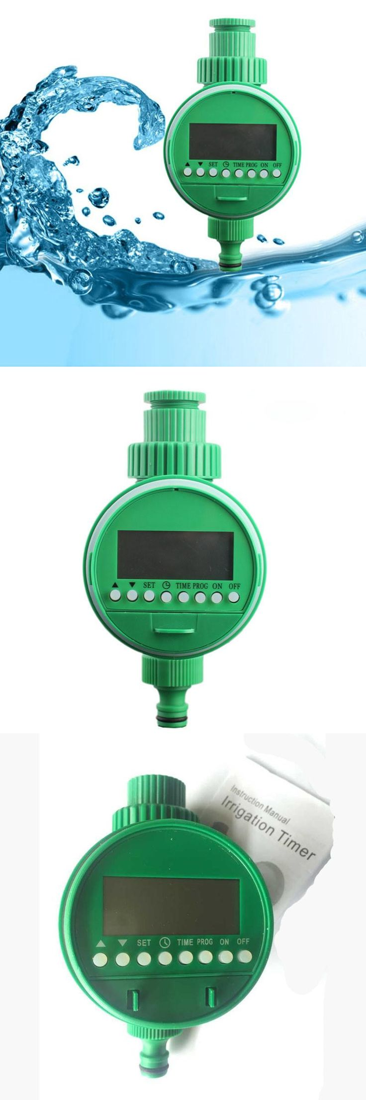 [Visit to Buy] New Home Water Timer Garden Irrigation Controller Set Water Programs GA Automatic Watering Timer Irrigation Controllers #Advertisement