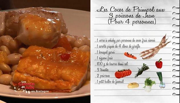 Cocos de paimpol aux trois poissons recettes les - Cuisiner les cocos de paimpol ...