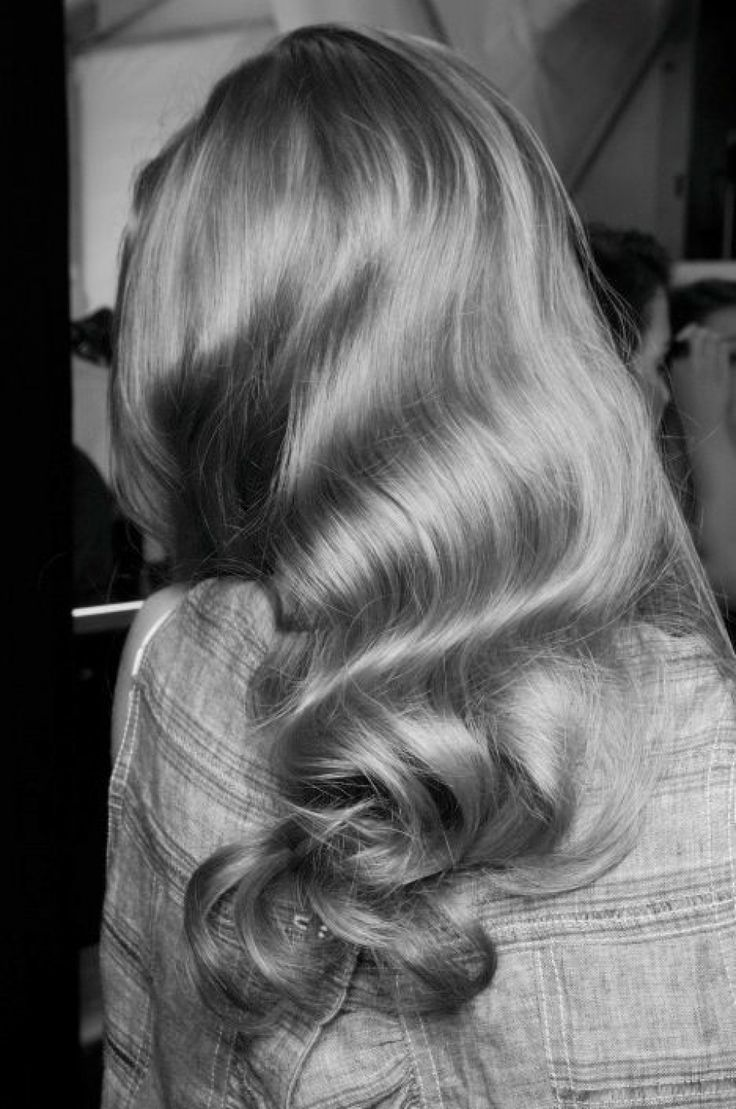 Wedding Hair / Soft Waves / Styling tips on The LANE...