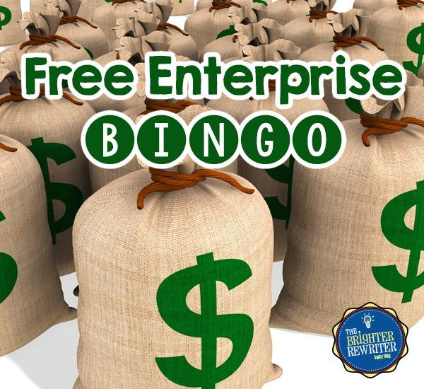 Free Enterprise Vocabulary Bingo uses words and pictures related to economic concepts and the free enterprise system to build vocabulary while playing a fun game! Students create their own bingo cards either by writing or by cutting and glueing 24 choices onto a blank card.