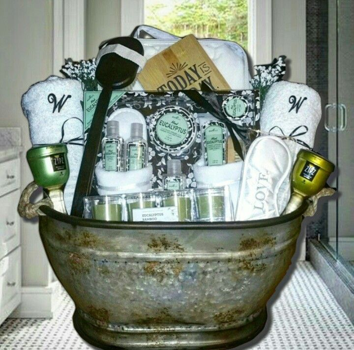 zotorius creations bridal shower spa gift basket gift baskets pinterest gift baskets gifts and basket