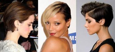 12 στιλάτα χτενίσματα για κοντά μαλλιά