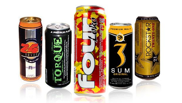 energy drinks mixed with alcohol the You will now have an alcoholic beverage so far is is just sitting on the counter i'm assuming for this you mean ethanol when you say alcohol if you decide to consume this beverage, you will end up drunk if you consume too much of it if the alc.