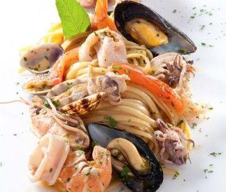 Linguine aux fruits de mer - Recette