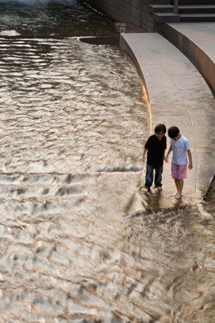 ChonGae Canal Restoration Project by Mikyoung Kim Design-01b « Landscape Architecture Works   Landezine