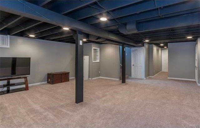 33 Classic Easy Diy Basement Finishing Lists In 2020 Basement Ceiling Basement Design Basement Makeover