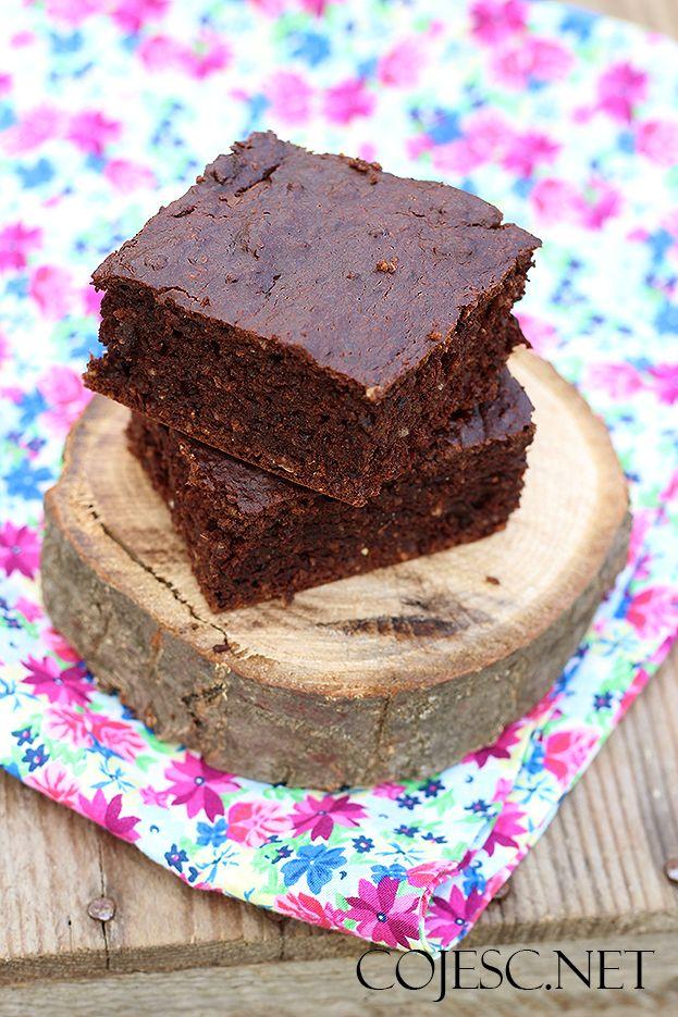 Cukiniowe brownie | Zdrowe Przepisy Pauliny Styś