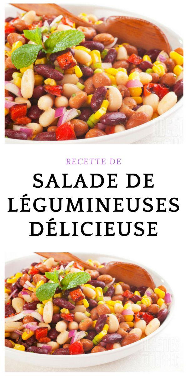 #salade #Légumineuses #végétarien