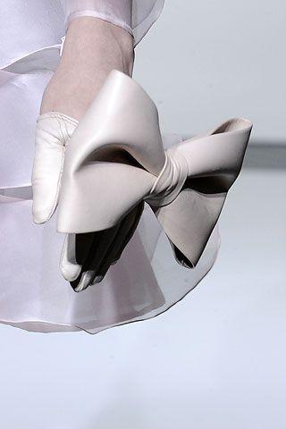 Valentino - Fall 2010 Couture Half Gloves