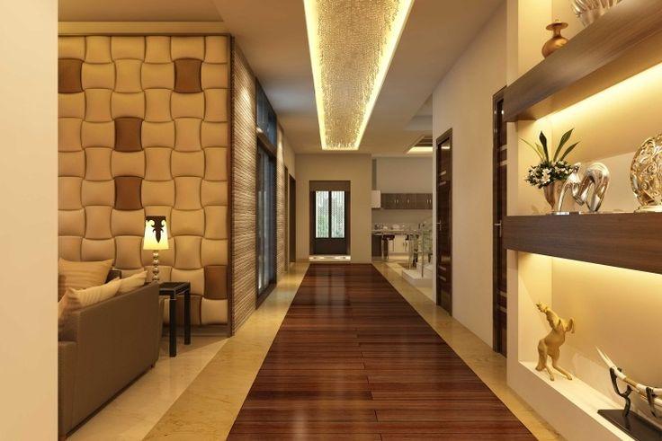 wandgestaltung im flur effektvolle beleuchtung wand decke decken pinterest lights. Black Bedroom Furniture Sets. Home Design Ideas