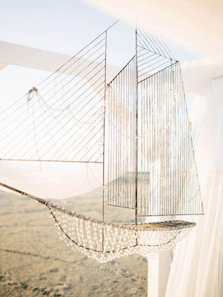 Crystal ship | Anastasia Bryukanova Photography | see more on: http://burnettsboards.com/2015/03/airy-sunset-elopement-nautical-notes/