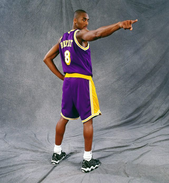 Kobe Bryant striking the pose...