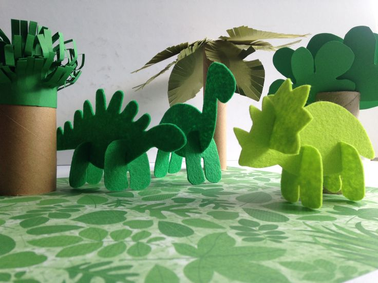 A cute and fun DIY dinosaur playscape to make for you kiddos.