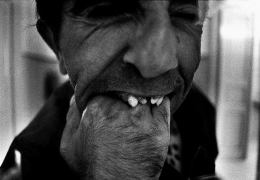 Alex Majoli. Greece, Leros. Mental hospital, 1995.    http://semioticapocalypse.tumblr.com