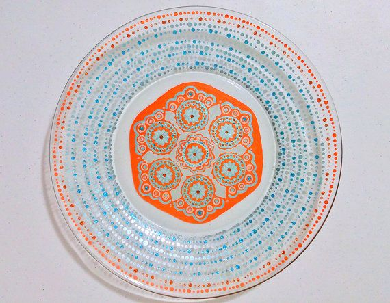 Check out this item in my Etsy shop https://www.etsy.com/listing/255862330/mandala-plate-wedding-dinnerware
