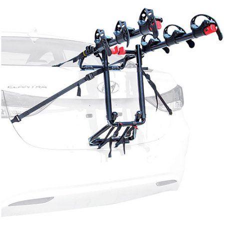 Allen Sports Premier 3-Bike Trunk Mount Carrier Rack, Black