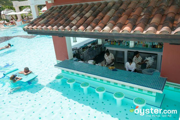 Swim-Up Bar at the Sandals Grande Antigua Resort & Spa