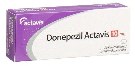 Donezepil:  medicine for alzheimer