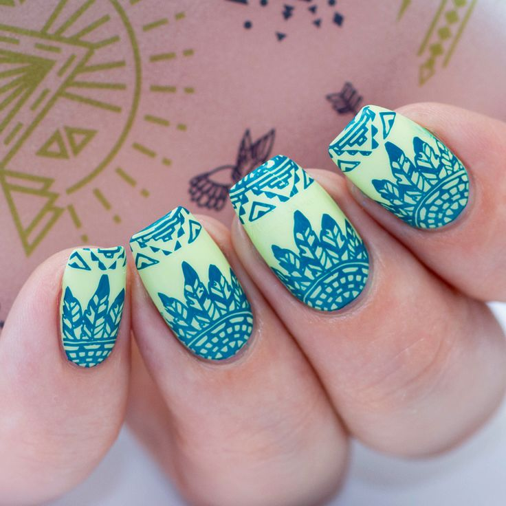 106 best bundle monster images on pinterest bundle monster nail flirting in tribal print paulinaspassions takes the chic peek nail stamping starter kit to prinsesfo Gallery
