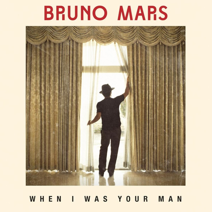 single cover art: bruno mars - when i was your man [03/2013]