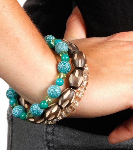 Easy #DIY tribal beaded bracelet!