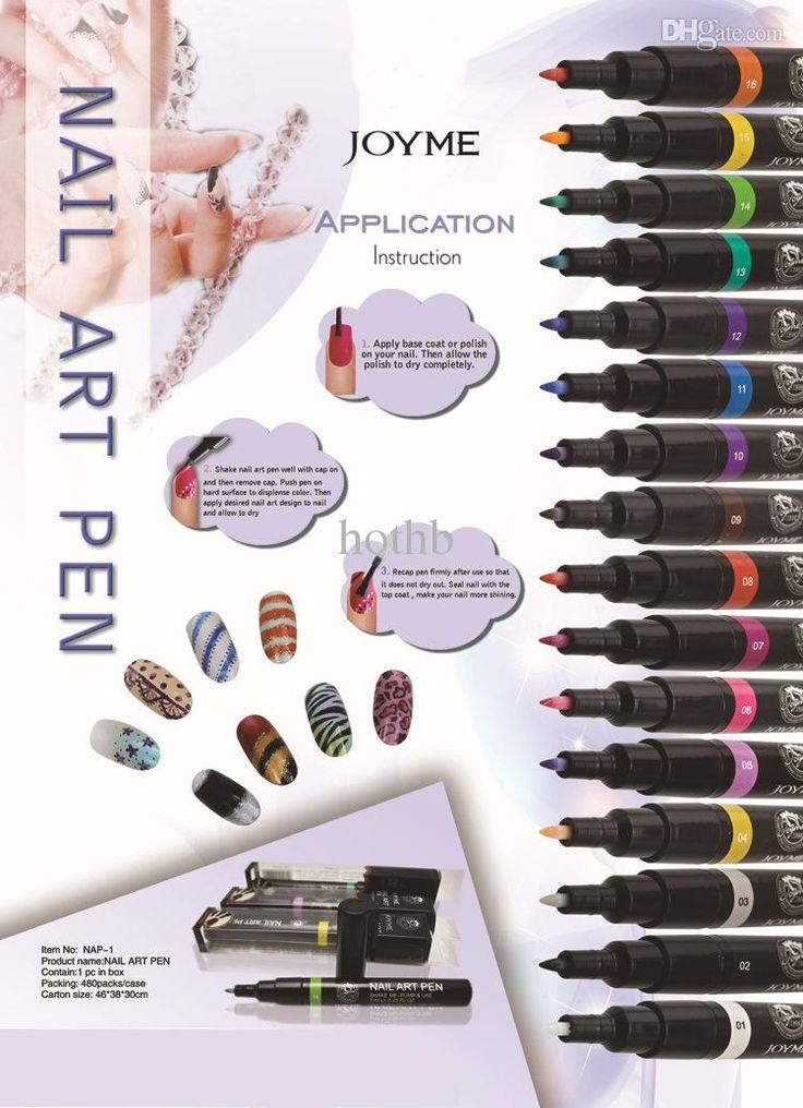 Nail Polish Tips Wholesale Nail Polish Nail Art Painting PenAssorted &Amp;Nail Art Fingernail Polish Pens Opi Nail Polish Online From Hothb, $12.87| Dhgate.Com