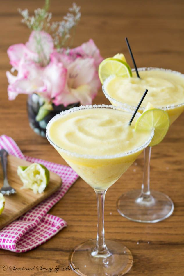 Frozen Pineapple Margarita Cocktail Recipe   Tropical Drink Recipes