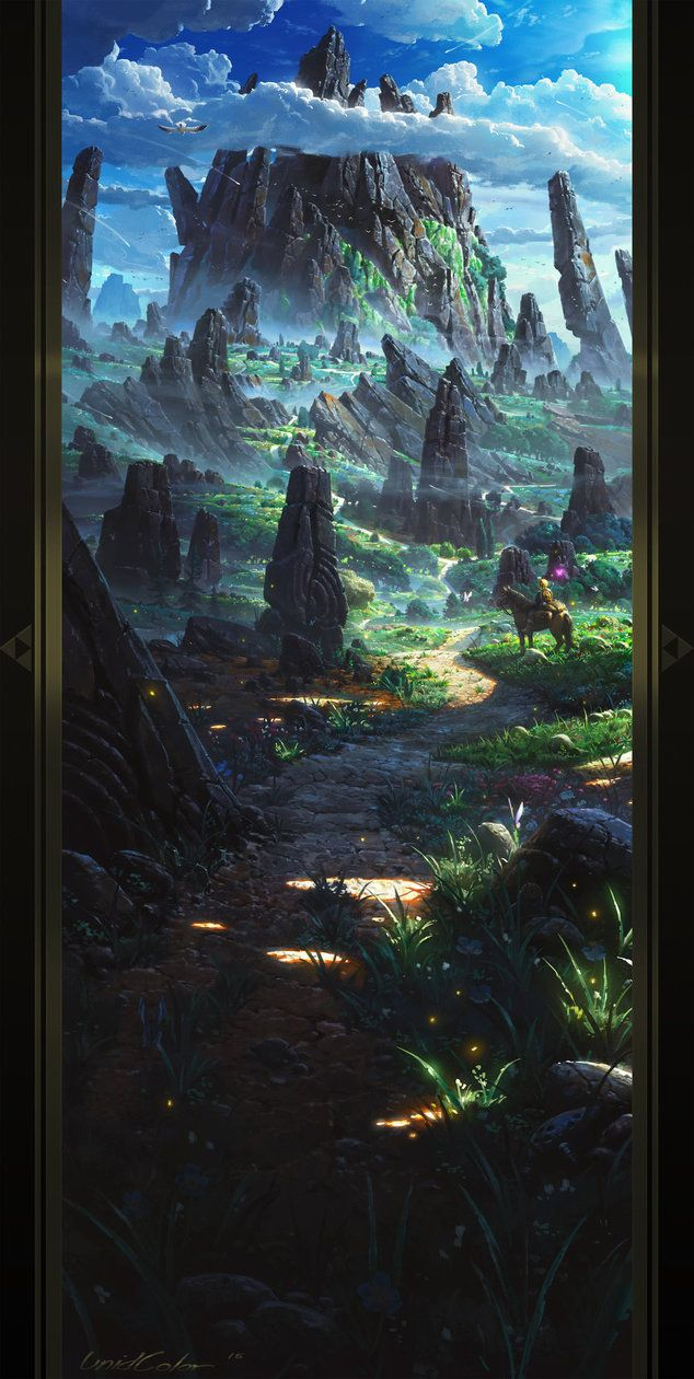 The Legend of Zelda: Breath of the Wild by UnidColor.deviantart.com on @DeviantArt