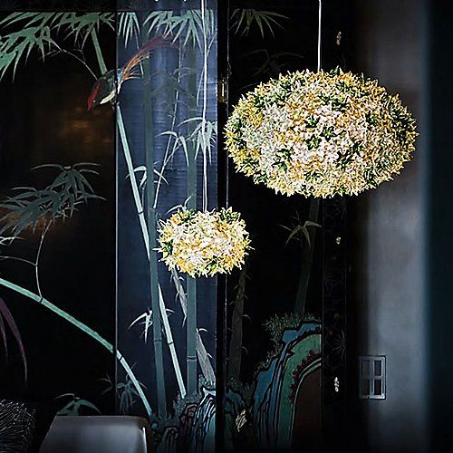 Bloom Round Pendant by Kartell at Lumens.com