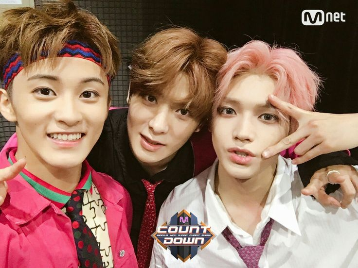 Mark, Jaehyun and Taeyong