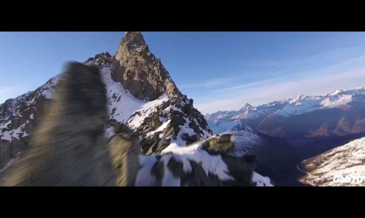 Les images spectaculaires des Alpes Suisses filmées par un drone.
