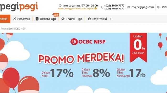 Promo Pegipegi.com Merdeka - Sederet Promo Bulan Agustus, Transportasi Hingga Akomodasi
