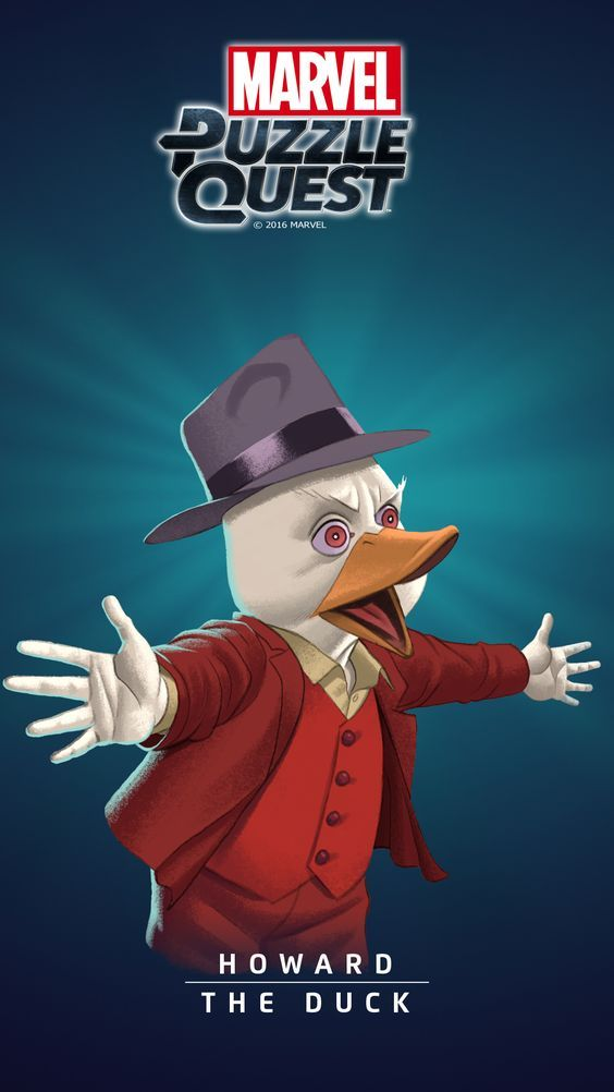 Howard the DUCK (Howard, a Duck)   4 Stars   Marvel PUZZLE QUEST