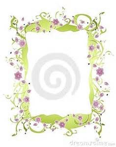 flowers corners frames borders and picture frame tubes fleurs page ...