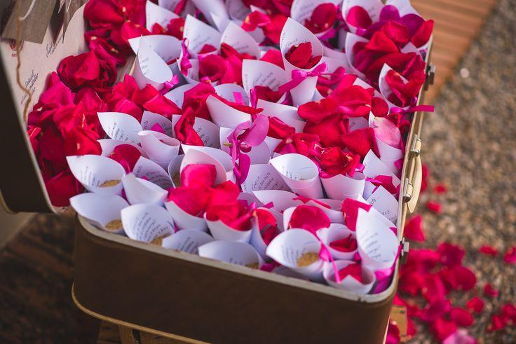 Rice and petals. Fotografo: Marco Vegni