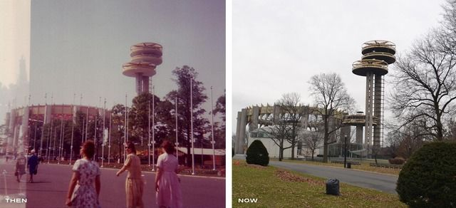 THEN AND NOW: 1964-65 New York World'sFair - Imagineering Disney -