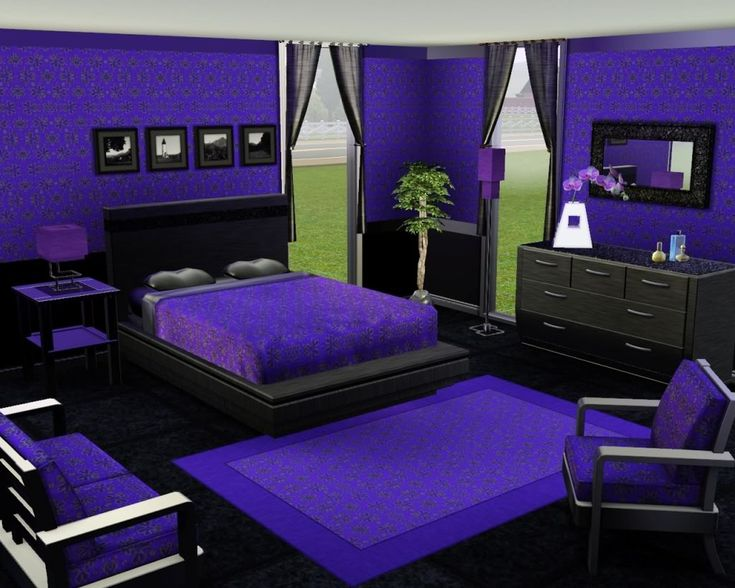 The 25 Best Dark Purple Bedrooms Ideas On Pinterest Deep Purple Bedrooms Bedroom Colors Purple And Purple Accent Walls