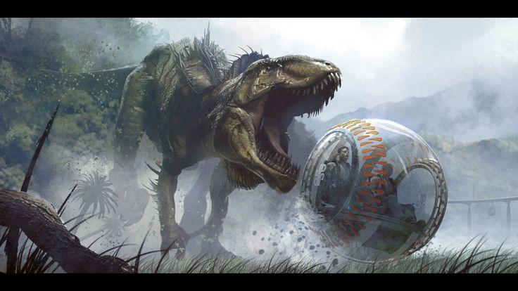 New ILM Concept Art for Jurassic World & Jurassic Park Released ...