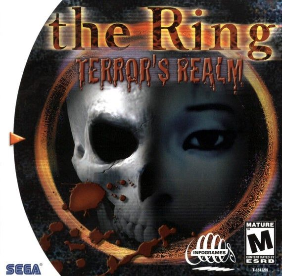 The Ring Terrors Realm Dreamcast Reproduction Custom Game Horror